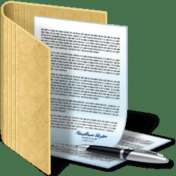Картинка - Папка с документами